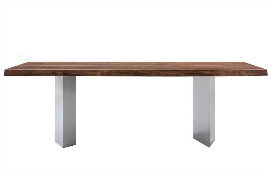 Scholtissek Tischgestell mit gekanteten Edelstahlwangen