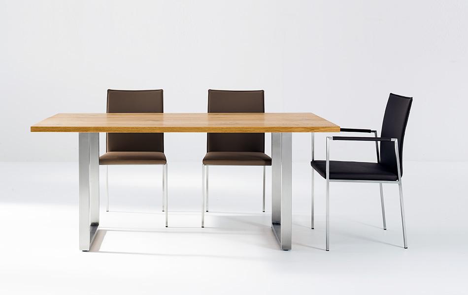 Scholtissek Tisch KOSMOS 10 · Stuhl KOSMOS II